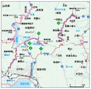 吾妻小富士_地図