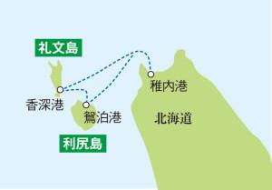 AC08_P044_利尻/礼文map