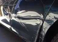 BMW 740 ドア交換 修理事例(自動車板金塗装修理)