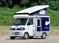 軽キャンパーでキャンプ旅 その1:収納スペース&装備充実