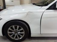 平成26年式 BMW320d F31ツーリング 中古フロントフェンダー交換 中古パーツで修理