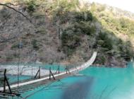 [静岡]千頭駅隣の道の駅「音戯の里」と夢の吊橋