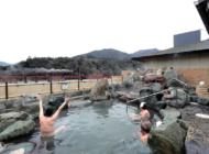 [静岡]大井川沿いにある道の駅「川根温泉」の露天風呂