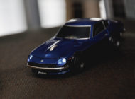 Cassette 日産フェアレディ240Z BLUELED 無線パソコン用マウス&小冊子