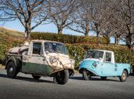 三輪のマツダT600とT600バキュームカー