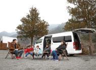 趣味のバイクとともに家族5人でキャンプも楽しむ!