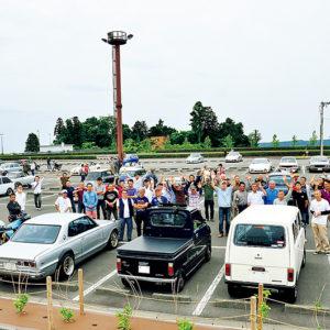 毎月第3日曜日の午前中 富士山静岡空港旧車ミーティング