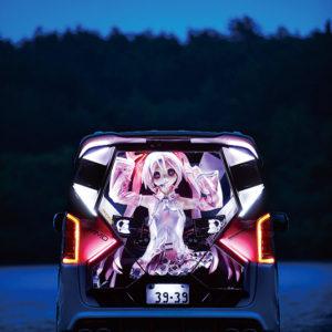 異空間を演出する3D痛車